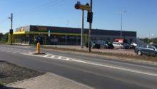 Obiekt handlowy wraz z infrastrukturą drogową – Kraków, ulica Władysława Łokietka