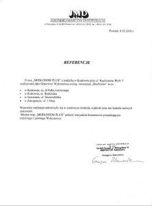 Referencje - JMD