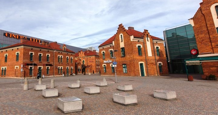 Modernizacja Galerii Kazimierz, Kraków ul. Podgórska
