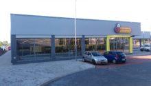 Budynek handlowo-usługowy w Trzebini